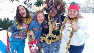Sending you some Christmas cheer from Centennial House!